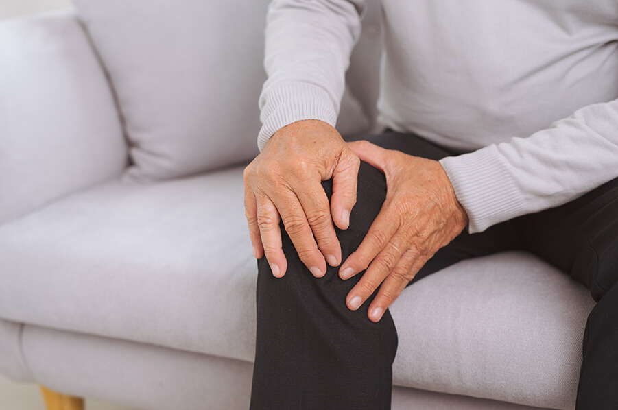 Man with Osteoarthritis of the Knee