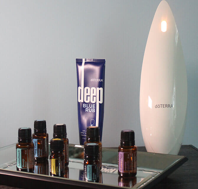 Essential Oils available at Living Well Balanced